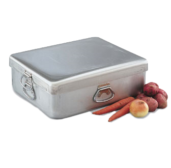 Vollrath 68391 Roasting Pan Only, 42 Quart, Aluminum