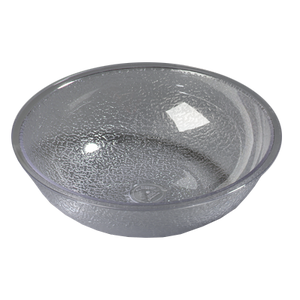 "Carlisle 720807 Salad Bowl, 1.62 qt., 8"" dia., round, polycarbonate, clear, NSF"