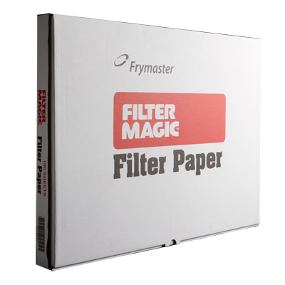 "Frymaster 803-0170 Filter Paper, 19-1/2"" x 27-1/2"", box of 100 sheets"