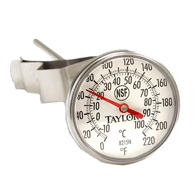 Taylor 8215N Bi-Therm® Pocket Thermometer, dial, 0° to 220°F