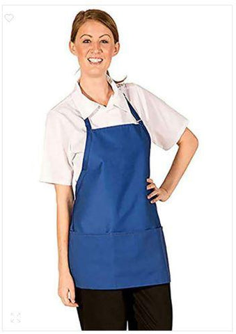 HI-LITE 833P3A 3/4 Bib-3 Pocket Adjustable Neck Royal Blue