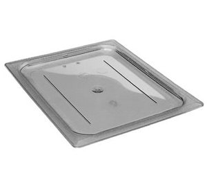 Cambro 90HPC150 H-Pan Cover, high heat, 1/9 size, flat, -40F to 300F, non-stick surface, wont bend or dent, amber, NSF