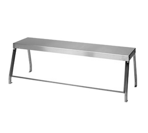 "Duke 956-460-3 Deluxe Serving Overshelf, table mount, 44-7/32""W x 10-1/2""D x 20""H, with 1/4"" thick glass, NSF, UL EPH Classified, cULus"