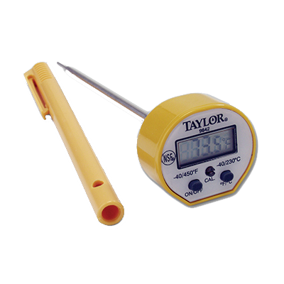 Taylor 9842FDA Pocket Thermometer, digital, instant read, -40° to 450°F