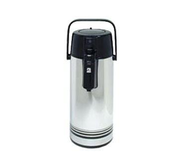 Adcraft AP-22 Airpot 2.2 Liter Stainless Steel with Glass Lining