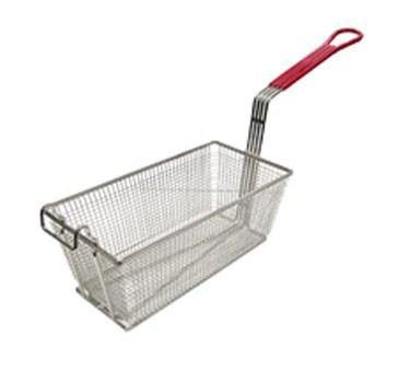 "Adcraft FBR-13612 Fry Basket, 12-7/8"" x 6-1/2"" x 5-3/8"" Deep"
