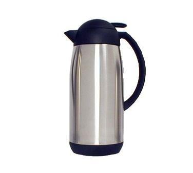Adcraft SLVF-1000 Vacuum Flask, 1000 ML, Stainless Steel