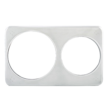 Winco ADP-608 Adapter Plate, Fits 4 Quart & 7 Quart Insets, Stainless Steel