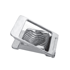 Thunder Group ALES-005C Egg Slicer, square, piano wire cutters, die cast aluminum