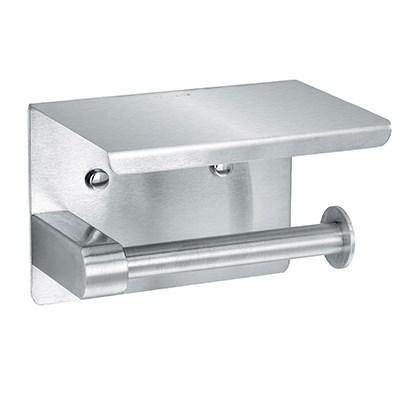 Alpine Industries 487-1-B, Single Roll Toilet Paper Dispenser, Wall Mount, Stainless Steel