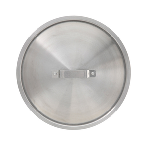 Winco ALPC-120 Stock Pot Cover for 120 qt Pots & 35 qt Braziers, Aluminum