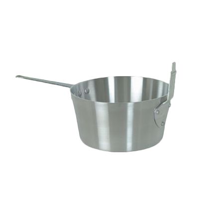 Thunder Group ALSF001 5-1/2 Qt Fry Pot with Stem Catcher, Aluminum Mirror-Finish