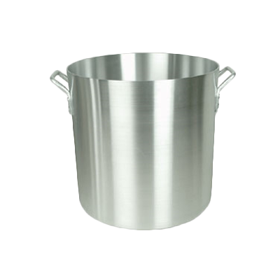 Thunder  ALSKSP015 Stock Pot, 200 quart capacity, without cover, quad-handles, heavy-duty, commercial thickness, dent resistant, aluminum, mirror-finish, NSF