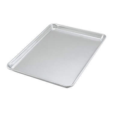 Winco ALXP-1318 Sheet Pan/Serving Tray - 1/2 Size, Aluminum