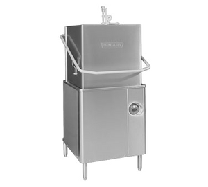 Hobart AM15-6 Dishwasher, door type, hot water/chemical sanitizing, 58-65 racks/hour, straight-thru or corner, 208-240/60/1, ENERGY STAR®