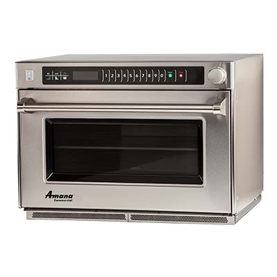 ACP AMSO22 Amana® Microwave Steamer Oven, heavy volume, countertop, 1.6 cu. ft. cavity, 208-240v/60/1-ph