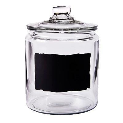 Storage Jar / Ingredient Canister, Glass