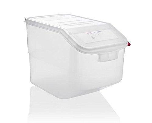 Araven 00918 Ingredient Bin Full Size 13 Gal Cap., Polypropylene Translucent