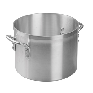 Winco AXS-8 8.5 Qt Aluminum Stock Pot