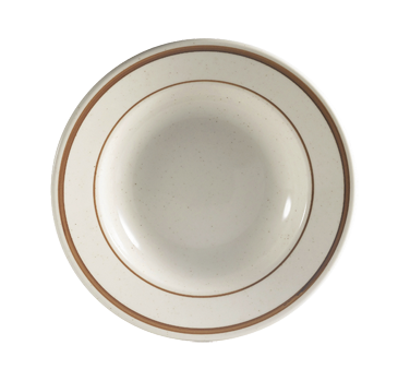 "CAC China AZ-3 Arizona Soup Plate, 10 oz., 9"" dia. x 2""H, round, narrow rim"