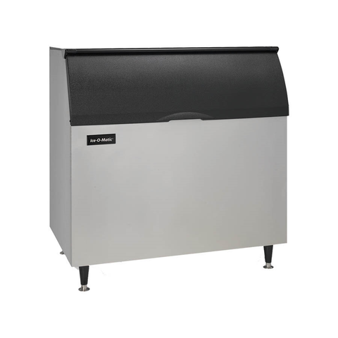 "Ice-O-Matic B110PS Ice Bin, 854 lb storage capacity, 48""W x 31""D x 50""H, top-hinged, slope front door, for top-mounted ice maker, NSF"