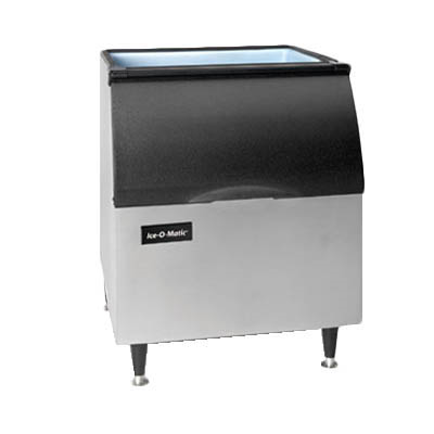 "Ice-O-Matic B40PS Ice Bin, 344 lb storage capacity, 30""W x 31""D x 37-1/2""H, top-hinged, slope front door, for top-mounted ice maker, NSF"
