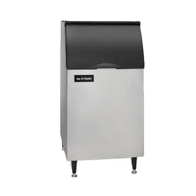 "Ice-O-Matic B42PS Ice Bin, 351 lb storage capacity, 22""W, 31""D x 50""H, top-hinged, slope front door, for top-mounted ice maker, NSF"