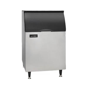 "Ice-O-Matic B55PS Ice Bin, 510 lb storage capacity, 30""W x 31""D x 50""H, top-hinged, slope front door, for top-mounted ice maker, NSF"