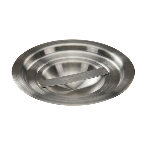 Winco BAMC-1.25 Bain Marie Cover, for 1-1/4 quart, round, with handle, stainless steel, mirror finish