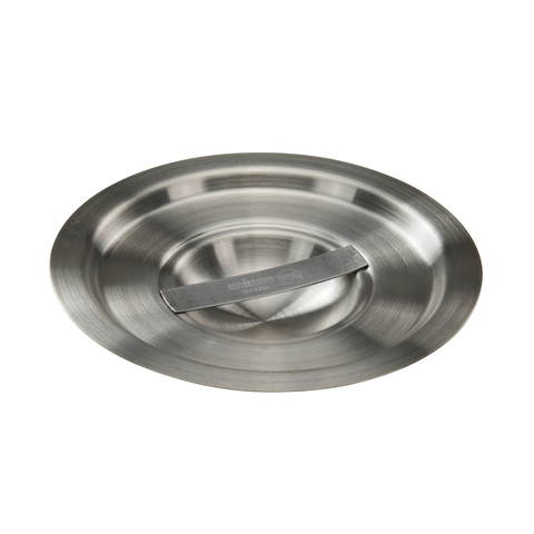 Winco BAMC-2 Bain Marie Cover, for 2 quart, round, with handle, stainless steel, mirror finish