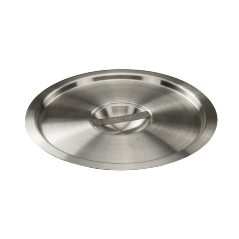 Winco BAMC-8.25 Bain Marie Cover, for 8-1/4 quart, round, with handle, stainless steel, mirror finish