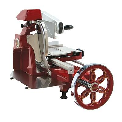 "Berkel 300M-STD 12"" Fly Wheel Slicer w/ Carbon Steel Knife, Guard & Integrated Dual Sharpener"