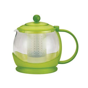 Bonjour 46023 teapot with flavor lock system 42oz green