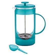 Bonjour 46574 (8) cup unbreakable french press aqua, blue