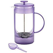 Bonjour 46575 French Press, 8 Cup, Unbreakable, Lavender