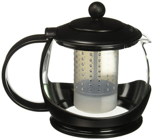 Bonjour 53108 teapot with flavor lock system 42oz black