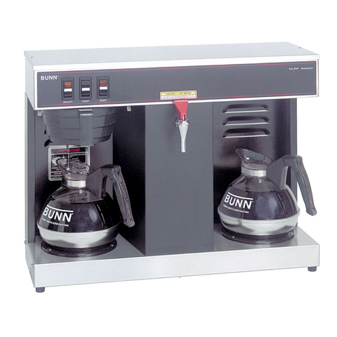 BUNN 07400.0005 VLPF Coffee Brewer, automatic, brews 3.8 gallons per hour capacity, 120v/60/1-ph, 1600w, NSF