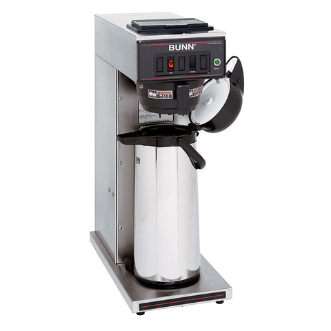 BUNN 23001.0003 CWT15-APS Airpot Coffee Brewer, automatic, 1320 watt tank heater, 120v/60/1-ph, 1370w, NSF