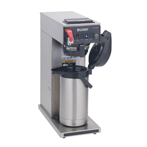 BUNN 23001.0006 CWTF15-APS Airpot Coffee Brewer, automatic, brews 3.8 gallons per hour capacity, 120v/60/1-ph, 1370w, 11 amps, NEMA 5-15P