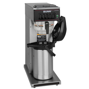 BUNN 23001.0062 CW15-APS Airpot Coffee Brewer, Pourover, Brews 3.8 gal/hr Capacity, 120v