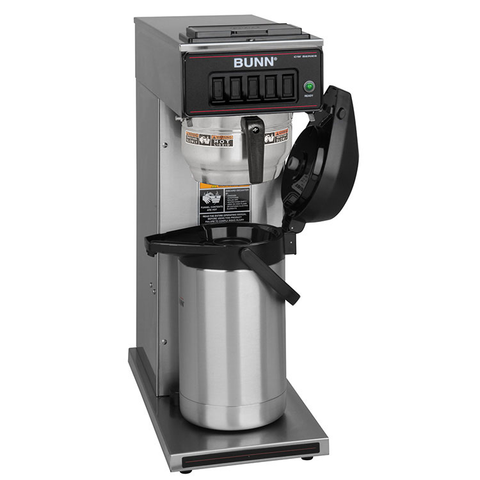 BUNN 23001.0062 CW15-APS Airpot Coffee Brewer, pourover, brews 3.8 gallons per hour capacity, digital timer, 120v/60/1-ph, 1370w, NSF
