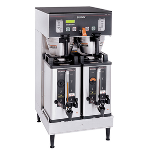 BUNN 33500.0000 DUAL SH DBC® BrewWISE® Dual Soft Heat® Coffee Brewer, 120/208-240v