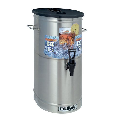 BUNN 34100.0002 TDO-4 Iced Tea & Coffee Dispenser, 4 Gallon Capacity, NSF