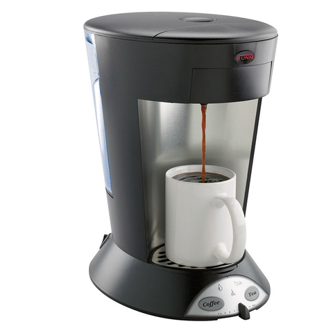 BUNN 35400.0003 MCP MyCafé Commercial Pod Brewer, Pourover, (60) 8 oz. Cups Per Hour, 120v