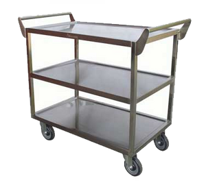 "GSW C-2333 Bus Cart, 3-tier, 40""W x 20""D x 33-1/2""H"
