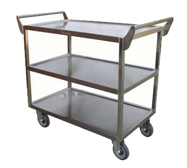 "GSW USA C-2333 Bus Cart, 3-tier, 40""W x 20""D x 33-1/2""H"