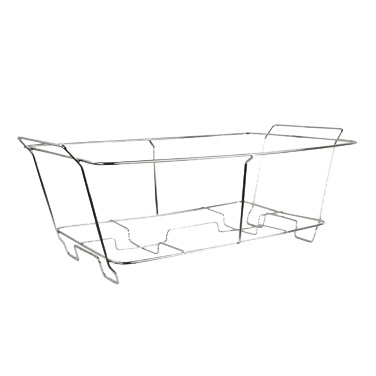 "Winco C-2F Chafer Stand, full size, fits (1) 2"" deep stainless steel or aluminum foil tray"