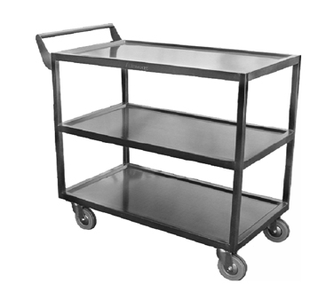"GSW C-4222 Bus Cart, 3-tier, 33-1/2""W x 18""D x 32-1/2""H"