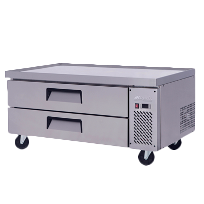 Migali C-CB48-HC Competitor Series® Refrigerated Equipment Stand/Chef Base, single section, (+33° to +41°F), 1/6 HP, 115v/60/1-ph, 2.3 amps