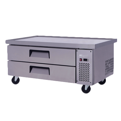 Migali C-CB52-60-HC Competitor Series® Refrigerated Equipment Stand/Chef Base, single section, (+33° to +41°F), 1/6 HP, 115v/60/1-ph, 2.3 amps